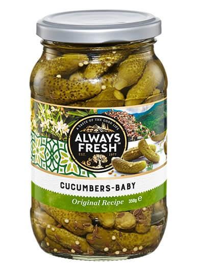 Cucumbers – Baby