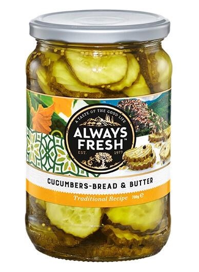 Cucumbers – Bread & Butter