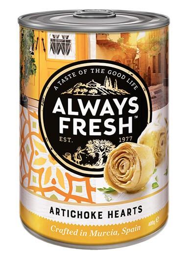 Artichoke Hearts – Canned