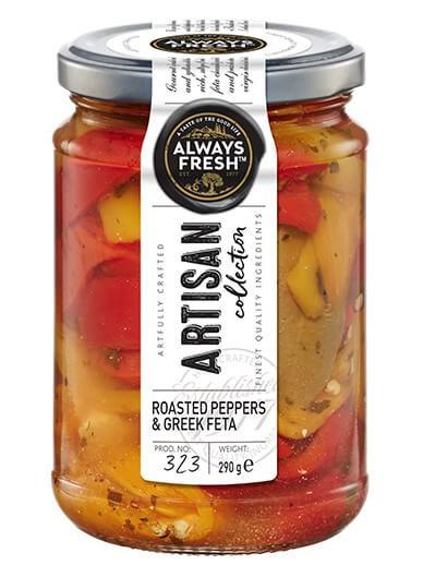Artisan Roasted Peppers & Greek Feta
