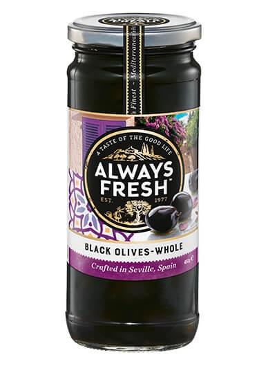 Black Olives – Whole
