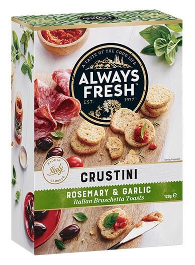 Crustini – Rosemary & Garlic