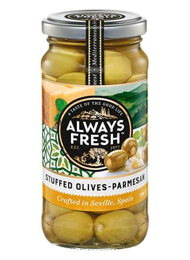 STUFFED OLIVES – Parmesan