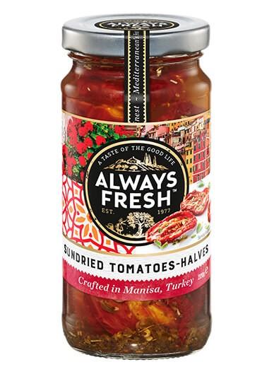 Sundried Tomatoes – Halves