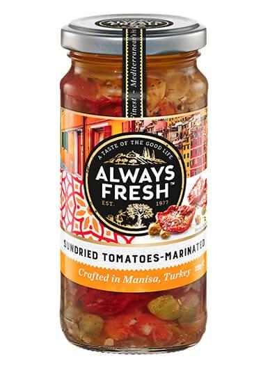 Sundried Tomatoes – Marinated