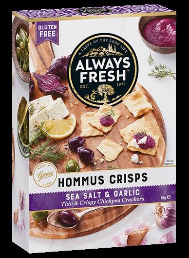 Hommus Crisps – Sea Salt