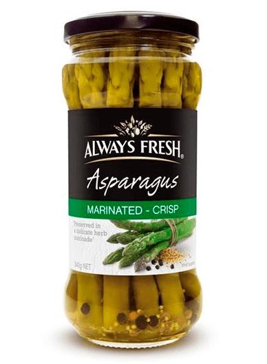Asparagus – Marinated