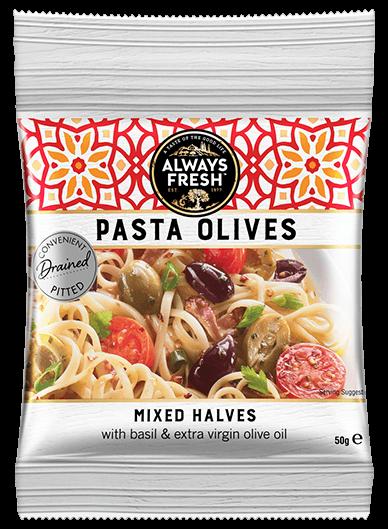 Pasta Olives-Mixed Olive Halves