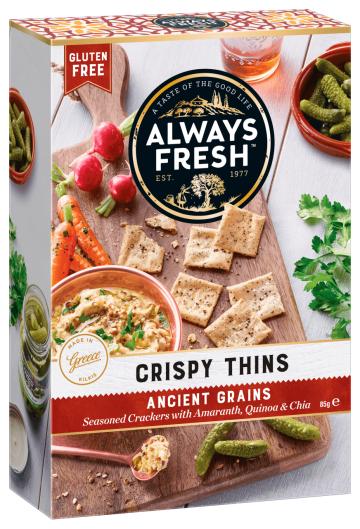 Crispy Thins – Ancient Grains