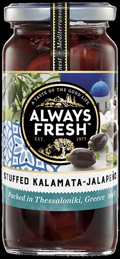 Stuffed Kalamata Olives – Jalapenos