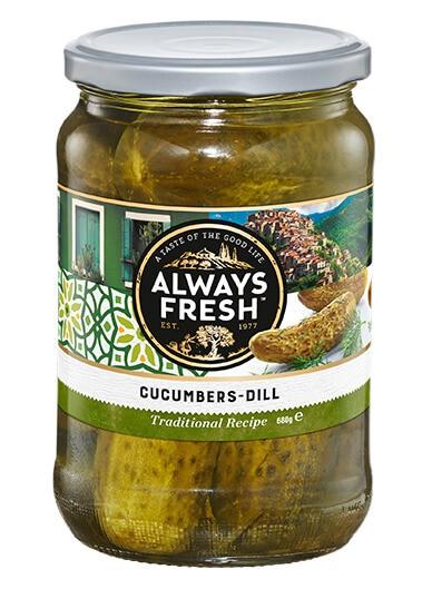 Cucumbers – Dill