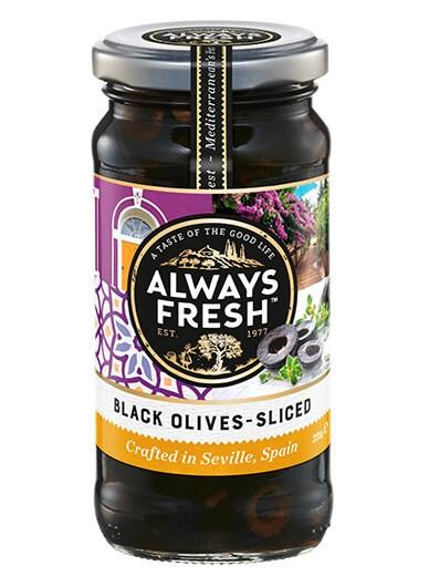Black Olives – Sliced