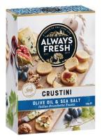 Crustini – Olive Oil & Sea Salt