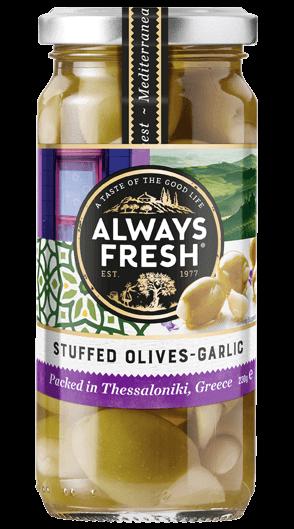 Stuffed Olives – Garlic