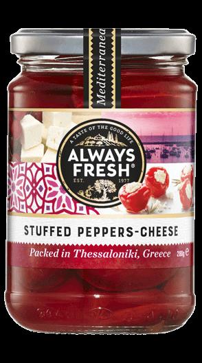 Stuffed Peppers – Cheese
