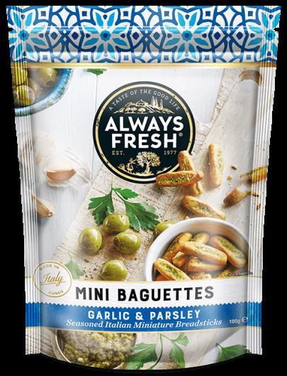 Mini Baguettes – Garlic & Parsley