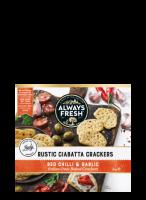 Ciabatta Crackers – Red Chilli & Garlic