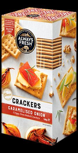 Caramelised Onions Crackers