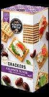 Kalamata Olive Crackers